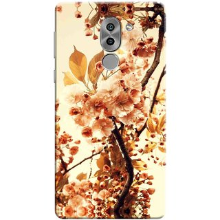 Digimate Printed Designer Soft Silicone TPU Mobile Back Case Cover For Huawei Honor 6X Design No. 0707