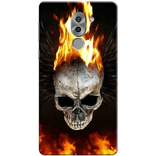 Digimate Printed Designer Soft Silicone TPU Mobile Back Case Cover For Huawei Honor 6X Design No. 1122
