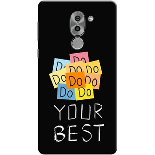 Digimate Printed Designer Soft Silicone TPU Mobile Back Case Cover For Huawei Honor 6X Design No. 1154