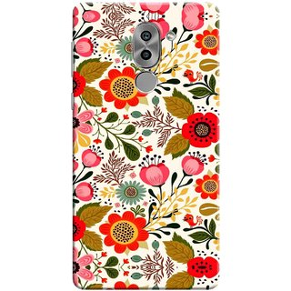 Digimate Printed Designer Soft Silicone TPU Mobile Back Case Cover For Huawei Honor 6X Design No. 0745