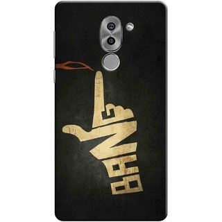 Digimate Printed Designer Soft Silicone TPU Mobile Back Case Cover For Huawei Honor 6X Design No. 0373