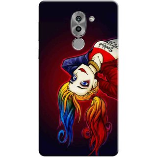 Digimate Printed Designer Soft Silicone TPU Mobile Back Case Cover For Huawei Honor 6X Design No. 1173
