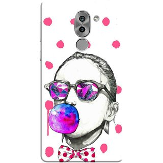 Digimate Printed Designer Soft Silicone TPU Mobile Back Case Cover For Huawei Honor 6X Design No. 1179