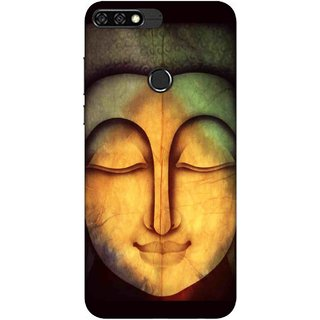 Digimate Printed Designer Soft Silicone TPU Mobile Back Case Cover For Huawei Honor 7C Design No. 0787