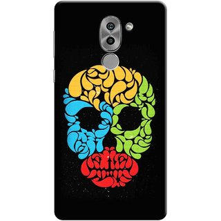 Digimate Printed Designer Soft Silicone TPU Mobile Back Case Cover For Huawei Honor 6X Design No. 0931