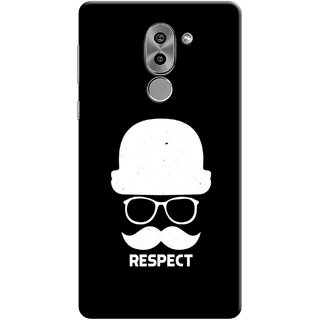 Digimate Printed Designer Soft Silicone TPU Mobile Back Case Cover For Huawei Honor 6X Design No. 0932