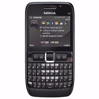 Refurbished Nokia E63 Bar Screen 2.4 Inch 2G Single Sim Feature Phone (6 Month WarrantyBazaar Warranty)
