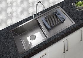 JNS KITCHEN SINK 37X18X10 Drainboard Reputed