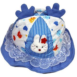 Dazzle baby girl summer caps beach caps summer bucket caps fancy printed hats for girls