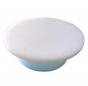 Martand Durable Heavy Fibre Material White Color Polpat Rolling Board- 23cm