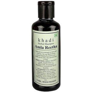 Khadi Amla Reetha Shampoo 210ml