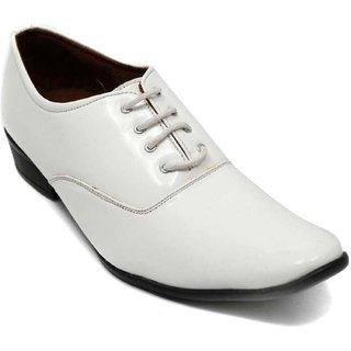 cffd7e39c Buy Semana Men White Formal Shoes Online - Get 40% Off