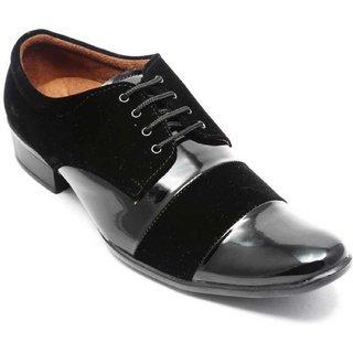 37557e475 Buy Semana Men s Patent Leather Party Wear Shoes Black Online - Get ...