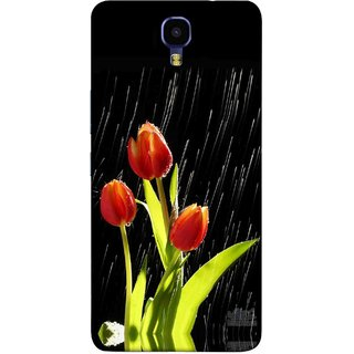 Digimate Printed Designer Soft Silicone TPU Mobile Back Case Cover For Infinix Note 4 Design No. 0061
