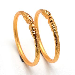 Jewar Mandi Bangles Set One Gram Gold Plated Jewelry for Women  Girls