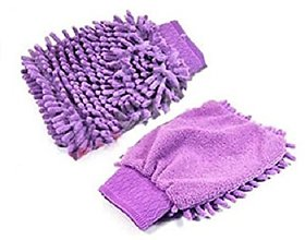 Traders5253  1  Microfiber Cleaning Gloves Hand Duster