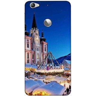 Digimate Printed Designer Soft Silicone TPU Mobile Back Case Cover For LeEco Le 1s Eco Design No. 1090
