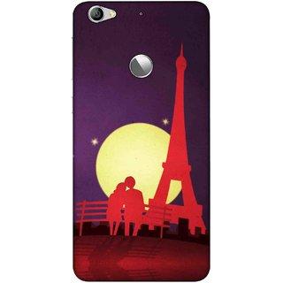 Digimate Printed Designer Soft Silicone TPU Mobile Back Case Cover For LeEco Le 1s Eco Design No. 0686
