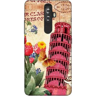 Digimate Printed Designer Soft Silicone TPU Mobile Back Case Cover For Lenovo K8 Plus Design No. 0270