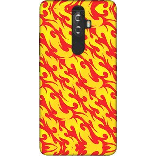Digimate Printed Designer Soft Silicone TPU Mobile Back Case Cover For Lenovo K8 Plus Design No. 0641
