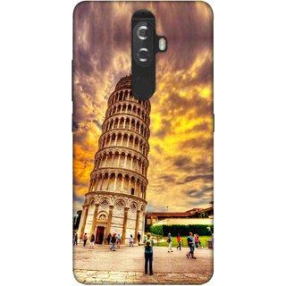 Digimate Printed Designer Soft Silicone TPU Mobile Back Case Cover For Lenovo K8 Plus Design No. 0272