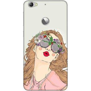 Digimate Printed Designer Soft Silicone TPU Mobile Back Case Cover For LeEco Le 1s Eco Design No. 1100