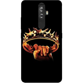Digimate Printed Designer Soft Silicone TPU Mobile Back Case Cover For Lenovo K8 Plus Design No. 0281