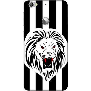 Digimate Printed Designer Soft Silicone TPU Mobile Back Case Cover For LeEco Le 1s Eco Design No. 0704