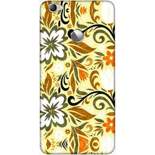 Digimate Printed Designer Soft Silicone TPU Mobile Back Case Cover For LeEco Le 1s Eco Design No. 0708