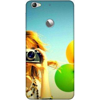 Digimate Printed Designer Soft Silicone TPU Mobile Back Case Cover For LeEco Le 1s Eco Design No. 1120