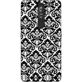 Digimate Printed Designer Soft Silicone TPU Mobile Back Case Cover For Lenovo K8 Plus Design No. 0671