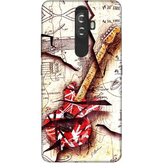 Digimate Printed Designer Soft Silicone TPU Mobile Back Case Cover For Lenovo K8 Plus Design No. 0305