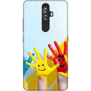 Digimate Printed Designer Soft Silicone TPU Mobile Back Case Cover For Lenovo K8 Plus Design No. 1142