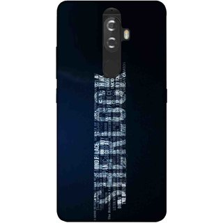 Digimate Printed Designer Soft Silicone TPU Mobile Back Case Cover For Lenovo K8 Plus Design No. 0379