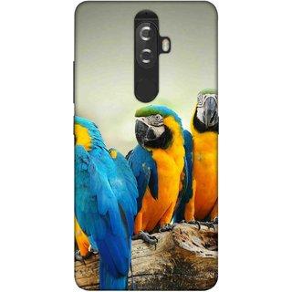 Digimate Printed Designer Soft Silicone TPU Mobile Back Case Cover For Lenovo K8 Plus Design No. 1155
