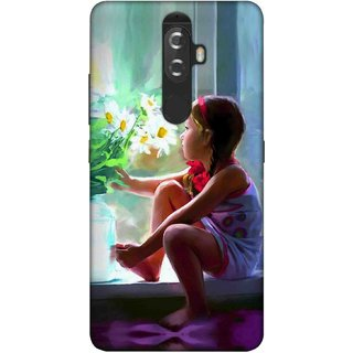 Digimate Printed Designer Soft Silicone TPU Mobile Back Case Cover For Lenovo K8 Plus Design No. 0757