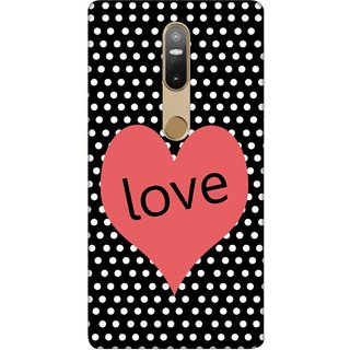 Digimate Printed Designer Soft Silicone TPU Mobile Back Case Cover For Lenovo Phab2 Plus Design No. 0332