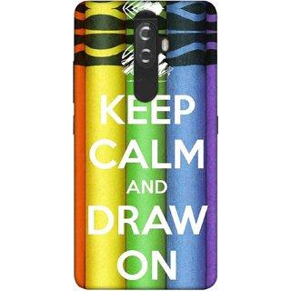 Digimate Printed Designer Soft Silicone TPU Mobile Back Case Cover For Lenovo K8 Plus Design No. 1167