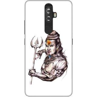 Digimate Printed Designer Soft Silicone TPU Mobile Back Case Cover For Lenovo K8 Plus Design No. 0765