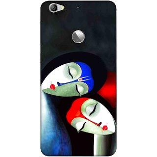 Digimate Printed Designer Soft Silicone TPU Mobile Back Case Cover For LeEco Le 1s Eco Design No. 1227