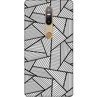 Digimate Printed Designer Soft Silicone TPU Mobile Back Case Cover For Lenovo Phab2 Plus Design No. 0343