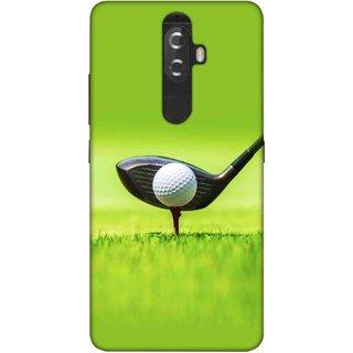 Digimate Printed Designer Soft Silicone TPU Mobile Back Case Cover For Lenovo K8 Plus Design No. 1186