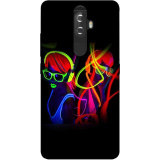 Digimate Printed Designer Soft Silicone TPU Mobile Back Case Cover For Lenovo K8 Plus Design No. 1199