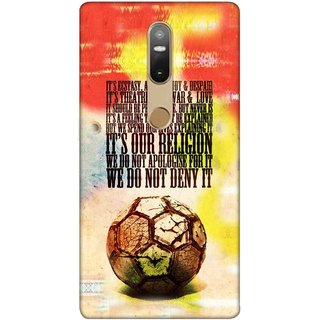 Digimate Printed Designer Soft Silicone TPU Mobile Back Case Cover For Lenovo Phab2 Plus Design No. 0753