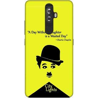 Digimate Printed Designer Soft Silicone TPU Mobile Back Case Cover For Lenovo K8 Plus Design No. 0829