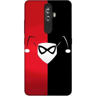 Digimate Printed Designer Soft Silicone TPU Mobile Back Case Cover For Lenovo K8 Plus Design No. 0831