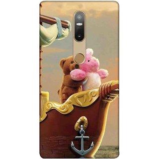 Digimate Printed Designer Soft Silicone TPU Mobile Back Case Cover For Lenovo Phab2 Plus Design No. 0408