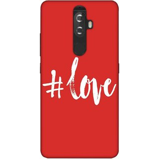 Digimate Printed Designer Soft Silicone TPU Mobile Back Case Cover For Lenovo K8 Plus Design No. 0862