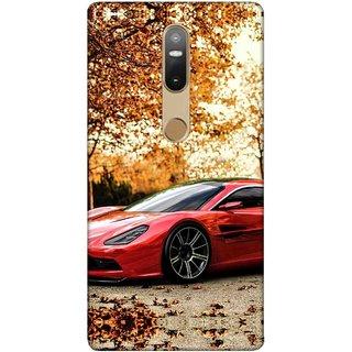 Digimate Printed Designer Soft Silicone TPU Mobile Back Case Cover For Lenovo Phab2 Plus Design No. 0088