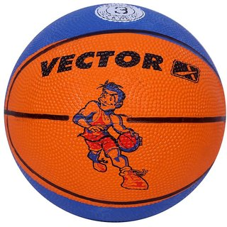 Vector X Toon Basketball (Size-3) (Assorted Colors)